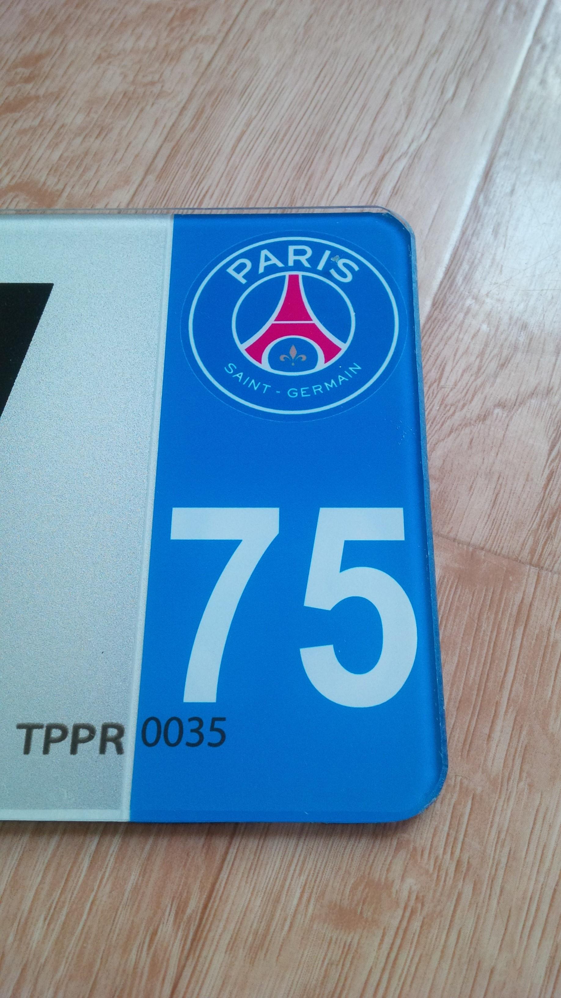 plaque plexiglass departement au choix et logo parissaintgermain xml